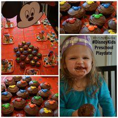 Disneykids preschool playdate, AD sponsored party, Fun Disney Themed party ideas for kids