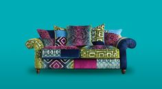 What a dramatic combination of colours ! What can we say - modern, stylish and funky
