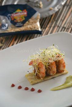 La Cucina di Stagione: Gamberi croccanti al Lemongrass su patate dolci al...