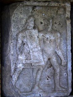 Adamclisi Metope. Legionary