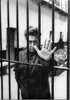 David Alfaro Siqueiros (El Coronelazo) Lecumberri, 1960. Héctor García.