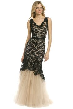 """Wedding-Worthy Frocks to Rent for Under $100:  Nha Khanh """"Noir Timeless Love"""" gown, $80 (Retail: $1200)"""