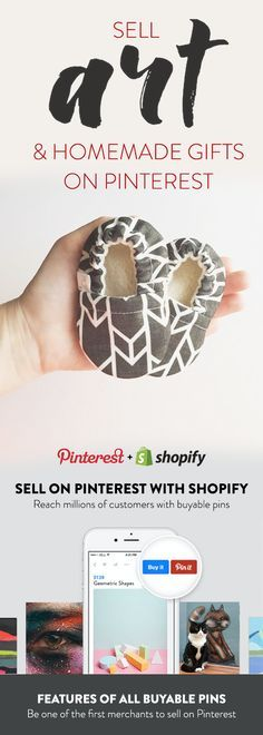 Use Shopify to create your online store today! Sign-up for a free 14-day trial and start selling on Pinterest today.