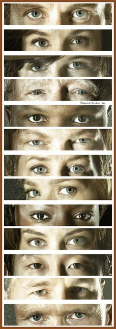 Rick Grimes - Daryl Dixon - Michonne - Carl Grimes - Glenn Rhee - Maggie Greene, Carol Peletier, etc - AMC's The Walking Dead