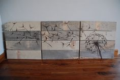 Dishfunctional Designs: Home Decor & Art Made From Old Salvaged Reclaimed Wood