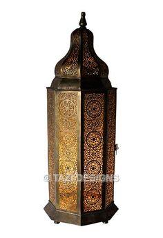 Moorish Table Lamp - Dounya : Moroccan Lamps