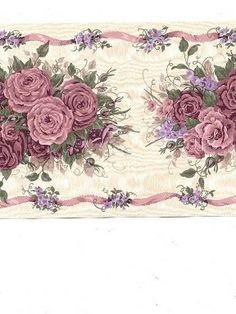 Jolie bordure de roses