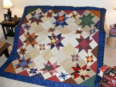 """My Star quilt, pattern by Judy Martin, """"Cookies -n- Quilts"""""""