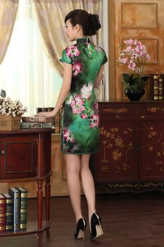 Cheongsam blue chinese dresses (2)            https://www.ichinesedress.com/