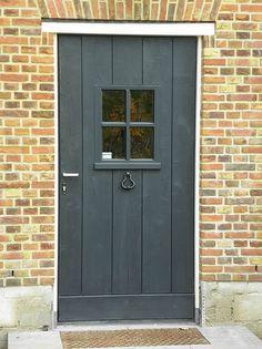 - Lilly is Love House Windows, Windows And Doors, Entrance Doors, Garage Doors, Farm Door, Door Gate Design, Dutch House, Entry Hallway, Outdoor Paint