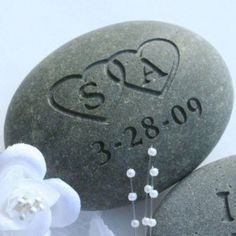 Embrace the old European tradition to add a meaningful highlight to your wedding ceremony. The Oathing Stone is an old Scottish tradition where the Bride and Groom place their hands upon a stone while saying their wedding vows. Wedding Initials, Wedding Vows, Wedding Gifts, Wedding Ideas, Wedding Stuff, Wedding Flowers, Wedding Planning, Wedding Week, November Wedding