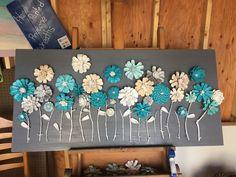 Pinecone wall art