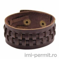 There is a feeling to wearing leather ? a toughness, a certainty in its lasting durability ? that makes one-of-a-kind bracelets made of the imitable material more than jewelry. A leather bracelet i. Bracelets For Men, Handmade Bracelets, Bangle Bracelets, Bangles, Leather Bracelets, Mens Leather Wristbands, Leather Buckle, Leather Working, Bracelet Making