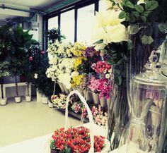 Espositori e fiori...