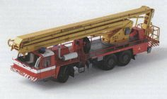 TATRA T815 PP 27-2 Cherry Picker Turck Free Vehicle Paper Model