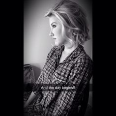 side view of Savannah Chrisley's short hair