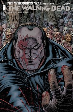"""Walking Dead"" Debuts 6 Epic, Interlocking Arthur Adams Variant Covers"