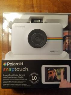 1f7ec01571 Polaroid SNAP Touch Instant Print Digital Camera w/Touchscreen Display  White: $129.95 End Date