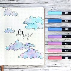Hello everyone I finally made it and set up for May ☺️ Currently I feel like I have a creative blockade but I try to fight it by just…