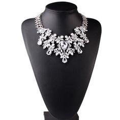 Crystal Rhinestone Choker Necklace