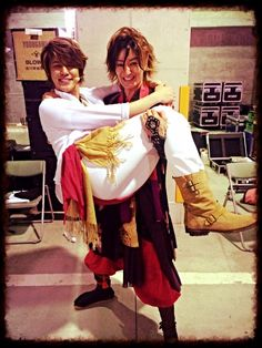 yasuhisa kata and mamoru 2014 - nobunaga the fool
