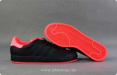 on sale 965b8 ac4d5 Hommes Adidas Superstar II X Lady Gaga Noir Rouge Pumas Shoes, Converse  Shoes, Nike