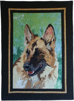 German Shepherd Dog Quilt
