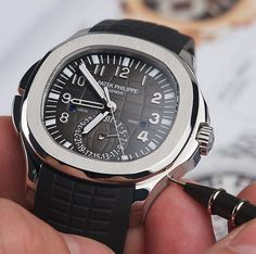 5164 travel time Aquanaut by #patekphilippe