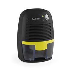 Klarstein Drybest 500 2G kompakter Luftentfeuchter Luft-Trockner zur Raumluft-Befreiung (300 ml/d, 23 W, leise ) schwarz