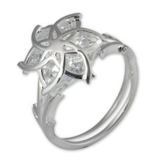 The Hobbit Jewelry Damen-Nenya Ring Gr. 54 (17.2) 19009988 54 | Your #1 Source for Jewelry and Accessories