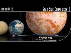 Star Size Comparison 2 - YouTube