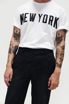 themaxdavis:  White New York TeePhotography by Adrilaw.com Stampdla.com