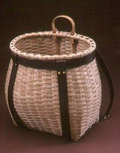 Basket Backpack! From Black Ash Baskets