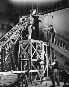 Movie Making at MGM studios. Is this really easier and less expensive than finding a house with a real staircase? Old Hollywood Movies, Hollywood Actor, Golden Age Of Hollywood, Vintage Hollywood, Classic Hollywood, Larp, Film Studio, Hollywood Studios, Film Stills