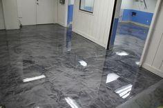 Pure Metallic - Metallic Epoxy Floor Coating Pictures