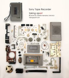 Sony tape recorder