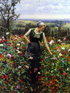 A July Morning Daniel Ridgway Knight - 1899