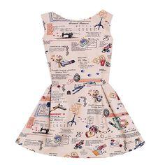Vintage Sewing Patterns Dress