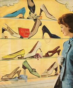 Red Cross Shoes, 1965
