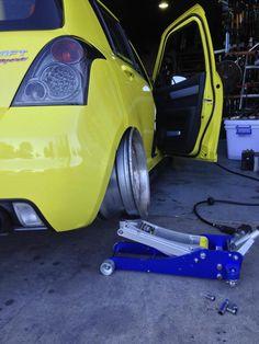 Suzuki Swift Sport, Forged Wheels, Daihatsu, Mini Bike, Modified Cars, Bean Bag, Sports, Style, Autos