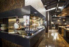 Showcase chefs Restaurant Kitchen Design, Cafe Restaurant, Cafe Bar, Hotel Kitchen, Design Despace, Design Blog, Australian Interior Design, Interior Design Awards, Cafe Concept