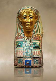 Madame de Pompadour (Ancient Egyptian mummy masks of a man named Pasyg. Ancient Egyptian Artifacts, Ancient Aliens, Luxor, Egypt Mummy, Egyptian Mummies, Ancient Civilizations, Archaeology, Art History, Antiquities