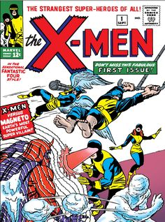 X-Men Omnibus HC Marvel) By Stan Lee and Jack Kirby comic books