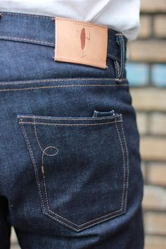 backpocket stitching