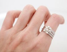 Thin scratch ball point ring,Tiny ball decorated ring,Fashion vintage layered ring,Woman modern simple ring, silver stacking rings Jewelry,Ring,stacking,statement ring,stacking rings,silver ball,frien