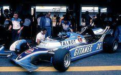 #26 Jacques Laffite...Equipe Talbot Gitanes...Ligier JS17...Motor Matra MS81 V12 3.0...GP Argentina 1981