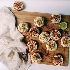 Lime, Coconut & Mexican Vanilla Cupcake