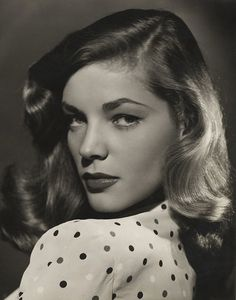 """Lauren Bacall photo by Bert Six) The phone in the bedroom rang. I picked it up. It was Lauren Bacall. """"I've been waiting for Tony for an hour,"""" Lauren said angrily. """"Where the hell is. Hollywood Icons, Old Hollywood Glamour, Vintage Glamour, Vintage Hollywood, Hollywood Stars, Hollywood Lights, Hollywood Hair, Hollywood Actresses, Humphrey Bogart"""