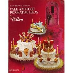 1970 Wilton Yearbook of Cake Decorating.  42 years of helping women and men create beautiful culinary masterpieces.