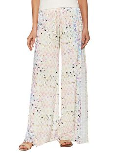 Beatriz Printed Wide Leg Pant by Alexis at Gilt